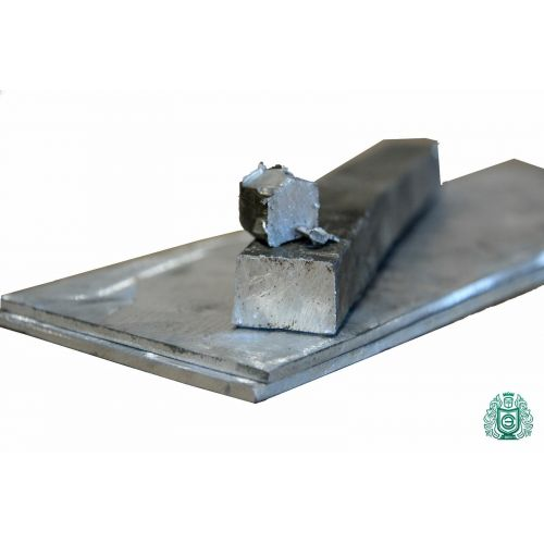 Cadmio Element 48 CD Purity 99,95% Clean Metal Lingot 10gr-5kg Blocchi di metallo, metalli rari
