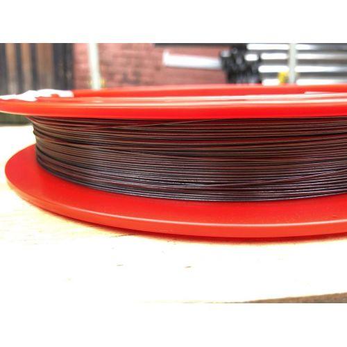 Filo di tungsteno Ø0,1-1,5 mm 99,95% metallo puro taglio pollici lampadina 1-50 metri, metalli rari