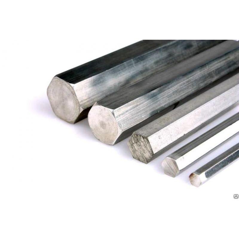 Esagono in alluminio Ø 13-36mm Asta esagonale in alluminio, asta in alluminio a 6 lati selezionabile, esagonale, alluminio