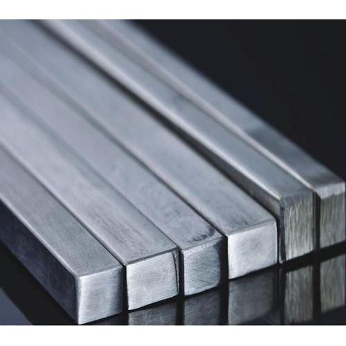 Barra profilata in acciaio inossidabile con barra quadrata in materiale pieno V2A,  acciaio inossidabile