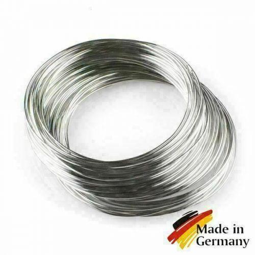Filo di acciaio per molle Filo di acciaio da 0,1-10 mm 1.4310 acciaio inossidabile 301 acciaio inossidabile 1-200 metri,  acciai