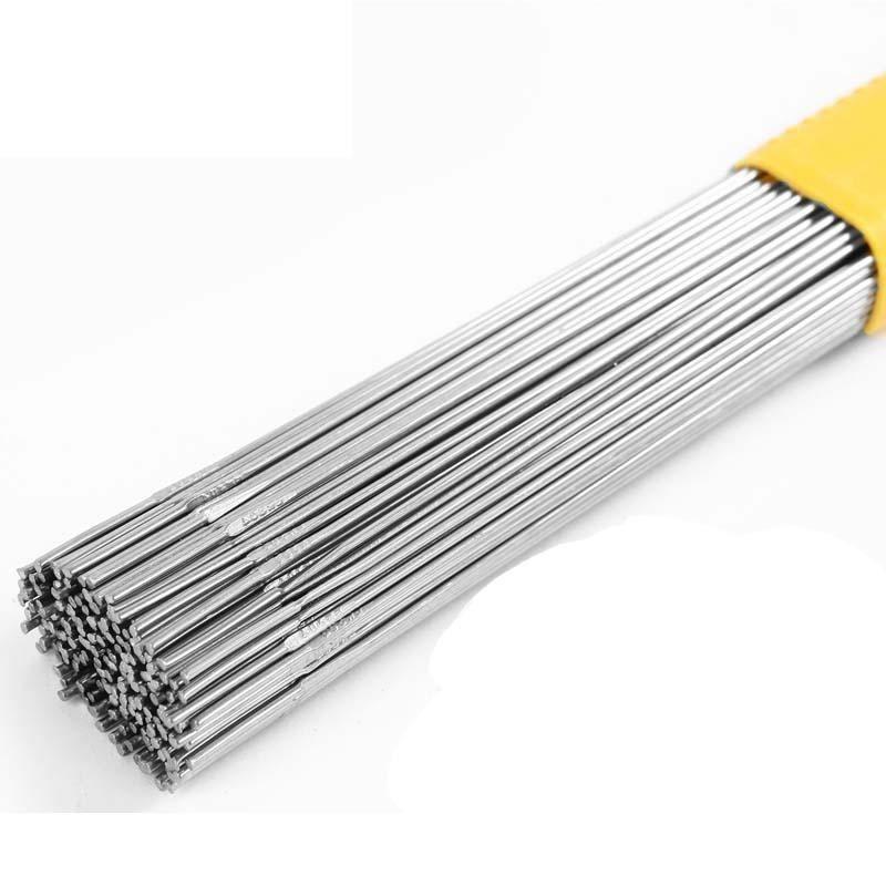 Elettrodi per saldatura Ø5x350mm filo per saldatura acciaio inossidabile TIG 1.4351 410 bacchette per saldatura,  Saldatura e sa