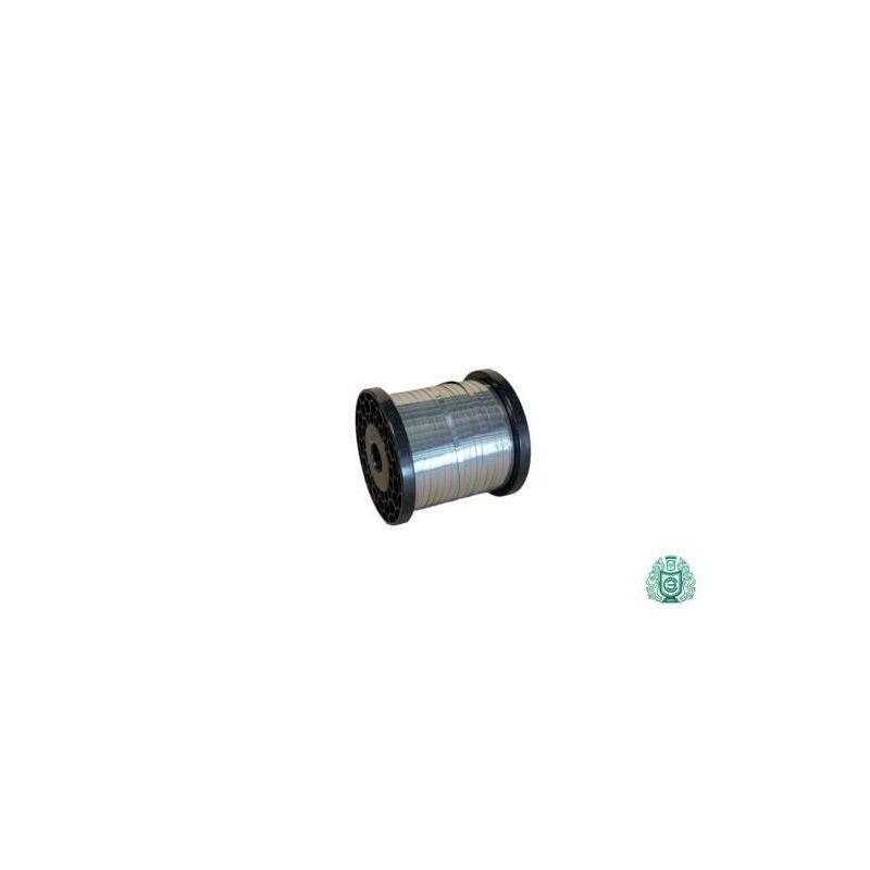 Nastro in acciaio inossidabile fascia in lamiera sottile filo piatto 0.4x45mm, 0.8x20mm V2A 1.4301 nastro 304, acciaio