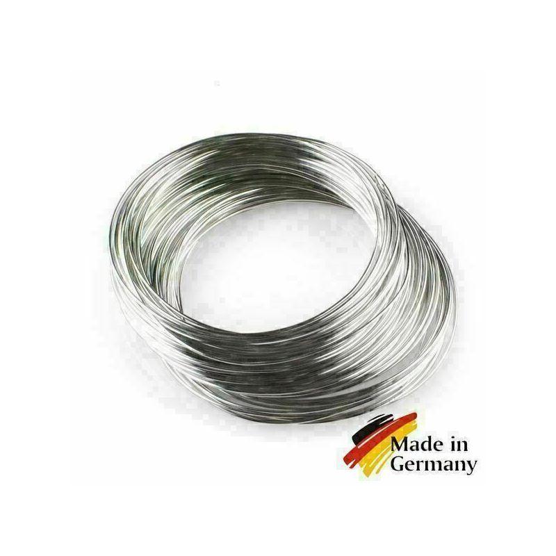 Filo di acciaio per molle 0.1-10mm filo per molle 1.4310 acciaio inossidabile 301 antiruggine 1-200 metri, acciaio inossidabile