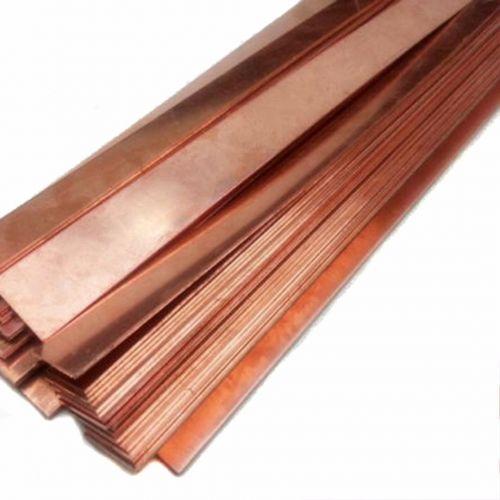 Elettrodo placcato fosforo rame 99% puro anodo 10x200x50-10x200x1000mm,  rame