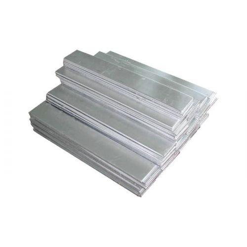 Piastra metallica anodizzata pura al nichel 99% 8x200x50-8x200x1000mm elettrolisi galvanica grezza, lega di nichel