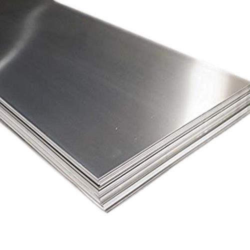 Lamiera di acciaio inossidabile 2,5 mm Piastre V2A 1.4301 Fogli tagliati da 100 mm a 2000 mm, acciaio inossidabile
