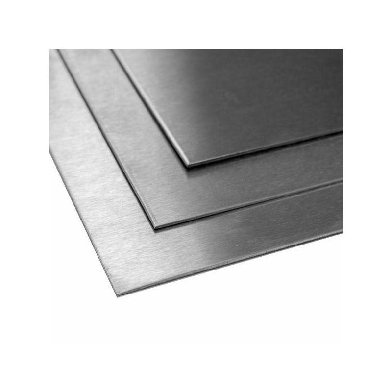 Lamiera in titanio 2mm 3.7035 Fogli di grado 2 tagliati da 100 mm a 2000 mm, titanio