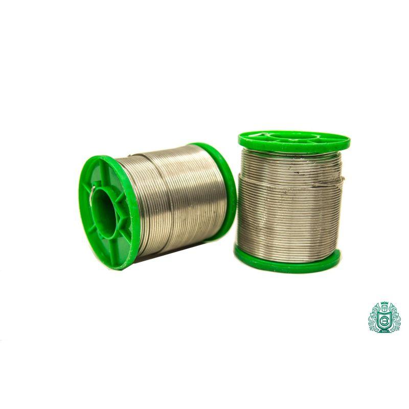 Latta per saldatura SnAg2.5 filo d'argento diametro 2mm senza liquido senza piombo 25gr-1kg,  Saldatura e saldatura