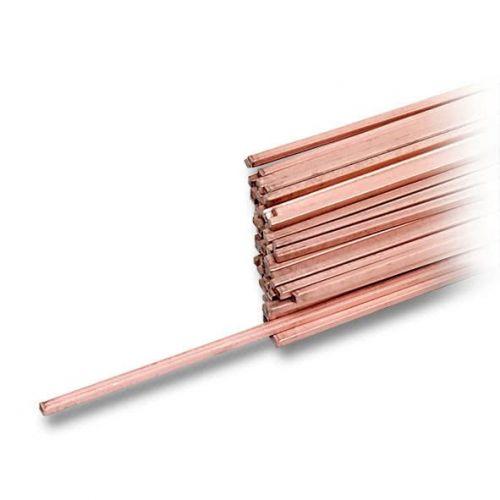 Bacchette L-Ag15P lega di rame-fosforo-argento da 2 mm 25gr-1kg filo di saldatura per saldatura, saldatura e brasatura
