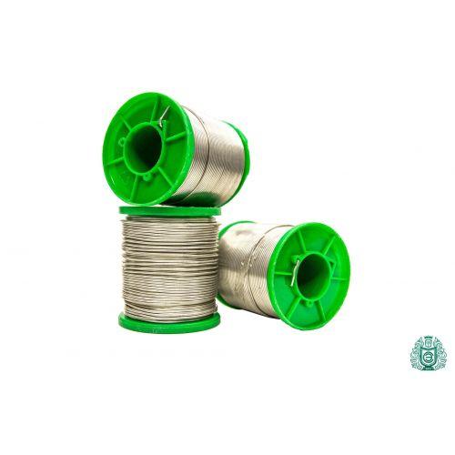Filo per saldatura Filo per saldatura Sn97Cu3 diametro 2,5 mm senza liquido non piombo 25gr-1000gr uovo,  Saldatura e saldatura