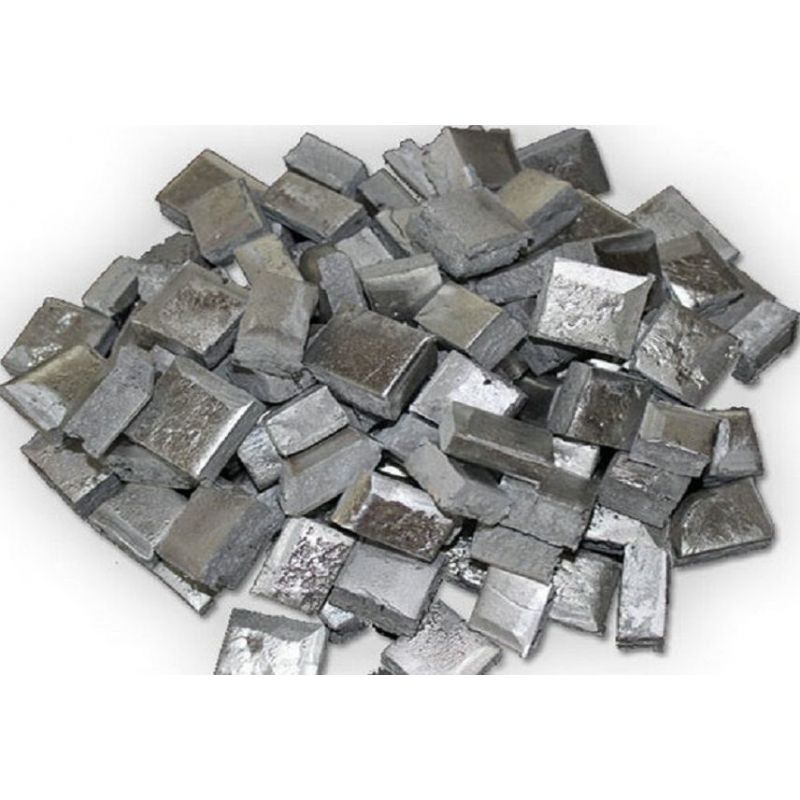 Scandio Alluminio AlSc Alluminio 98% Scandio 2% Nugget Bar 5-10kg