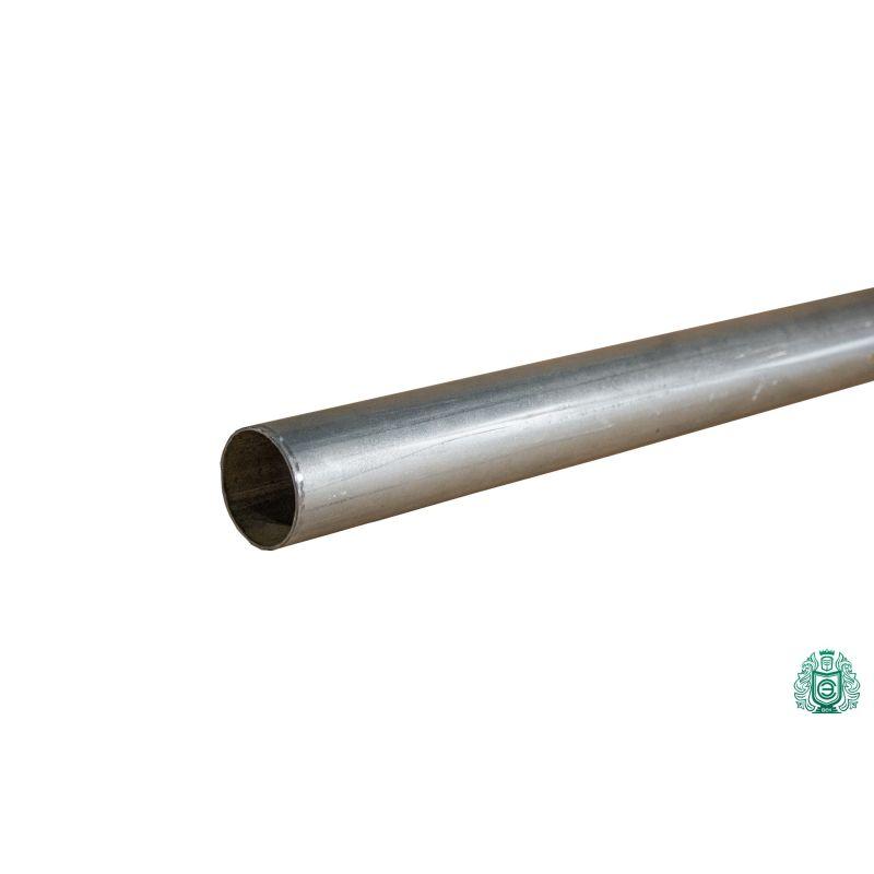 Tubo in acciaio zincato costruzione tubo ringhiera filo metallo tondo Ø 50x1,4 mm