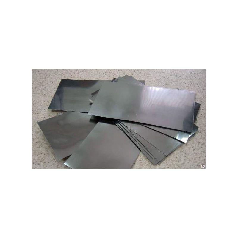 Placca di lamiera anodica pura al cadmio 99,9% 6x300x50-8x300x500mm elettrolisi galvanica