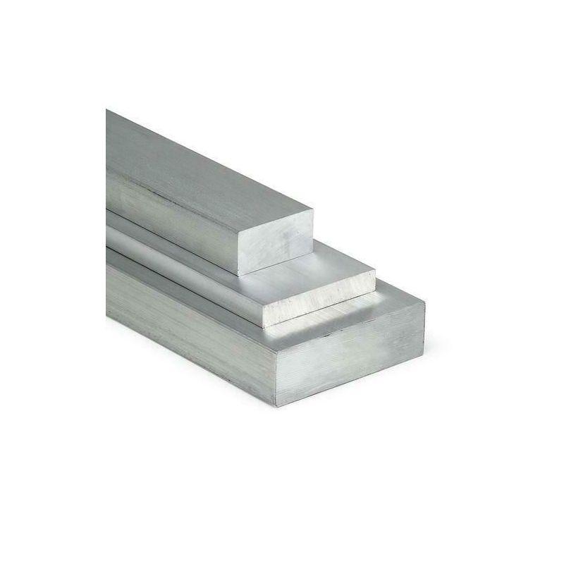 Barra piatta in alluminio 20x2mm-100x40mm AlMgSi0.5 materiale piatto profilo in alluminio uovo piatto