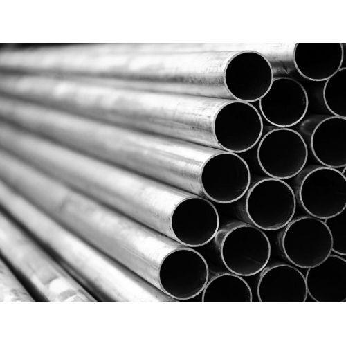 Tubo tondo, tubo in acciaio, tubo filettato, tubo ringhiera dia 7x1,2 a 80x2 mm