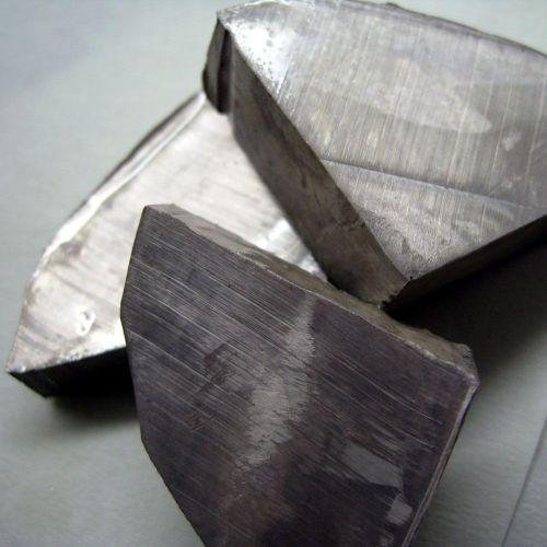 Elemento metallico al litio ad alta purezza 99,9% Li 3 barre 5gr-5kg