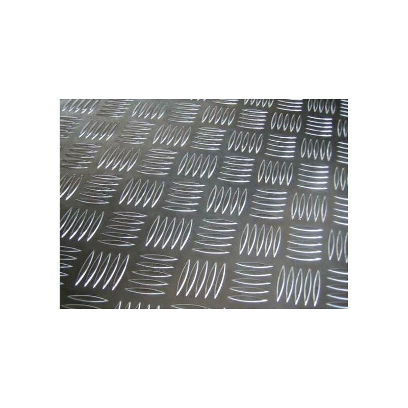 Piastra striata in alluminio Piastre da 2,5 / 4 mm Piastre in alluminio Piastra sottile in alluminio selezionabile
