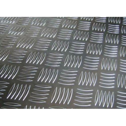 Piastra striata in alluminio Piastre 3 / 5mm Piastre in alluminio Piastra sottile in alluminio selezionabile