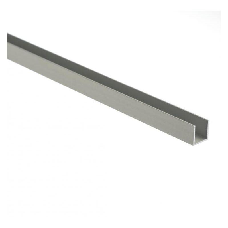 Profilo a U in alluminio isoscele 30x20x2mm-80x20x2mm angolo in alluminio