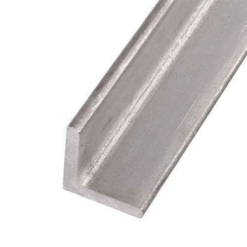 Profilo a L in acciaio inox angolare isoscele 40x40x4mm-60x60x6mm 0.25-2 Met