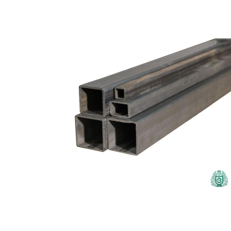 Tubo quadrato in acciaio tubo a profilo vuoto tubo quadrato in acciaio diametro 12x12x1,5 a 100x100x3 0,2-2 metri