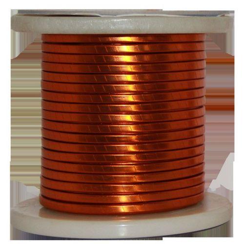 Filo piatto smaltato Ø 5-18mm filo di rame W200 barra piatta Cu 99,9% filo smaltato filo artigianale