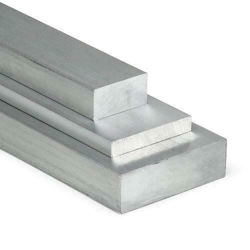 Barra piatta in alluminio 30x2mm-60x8mm AlMgSi0.5 materiale piatto profilo in alluminio uovo piatto