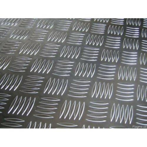 Piastra a scacchiera in alluminio Piastre quintetto 5 / 6,5 mm, piastre Al, piastra alluminio, lamiera sottile