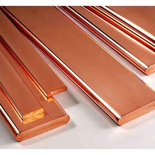 Barra piatta in rame 30x2mm-90x12mm strisce di lamiera tagliate a lunghezza 1 metro