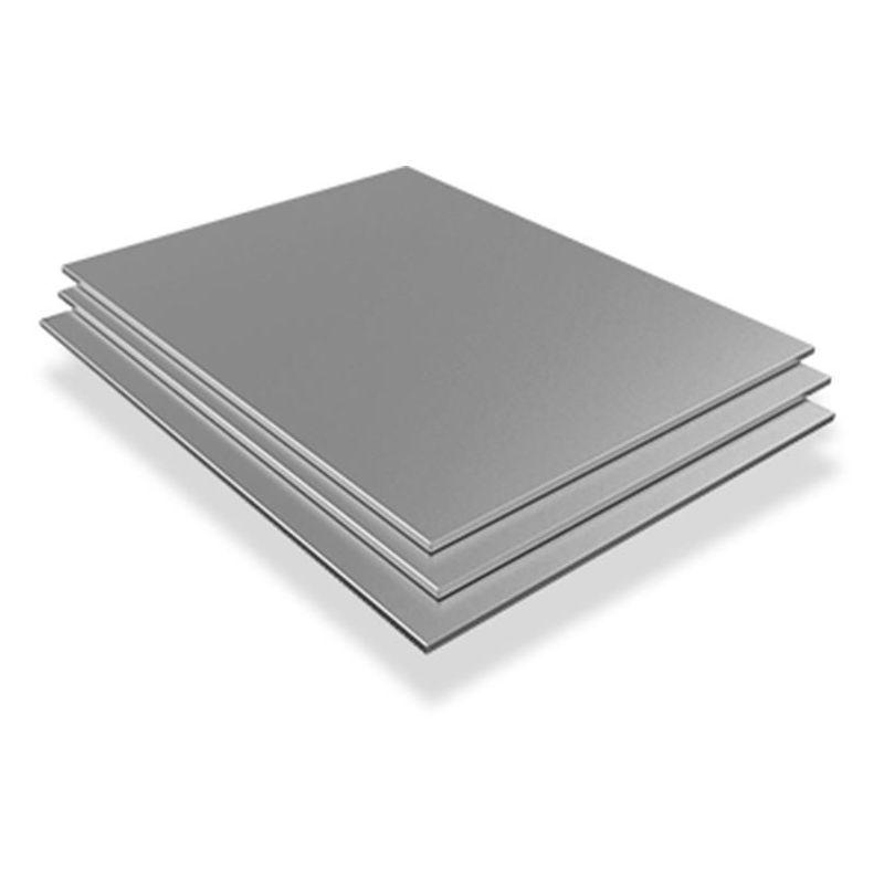 Lamiera di acciaio inossidabile 4mm-6mm 316L Wnr. 1.4404 fogli fogli tagliati da 100 mm a 1000 mm