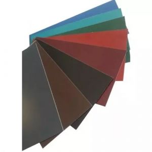 Barra piatta in acciaio 0,5 mm strisce colorate lamiera tagliata a misura 0,5-1 metri