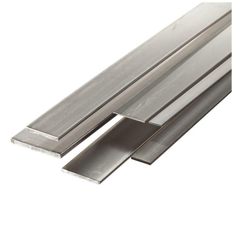 Barra piatta in acciaio 30x2mm-90x5mm strisce di lamiera tagliate da 0,5 a 2 metri