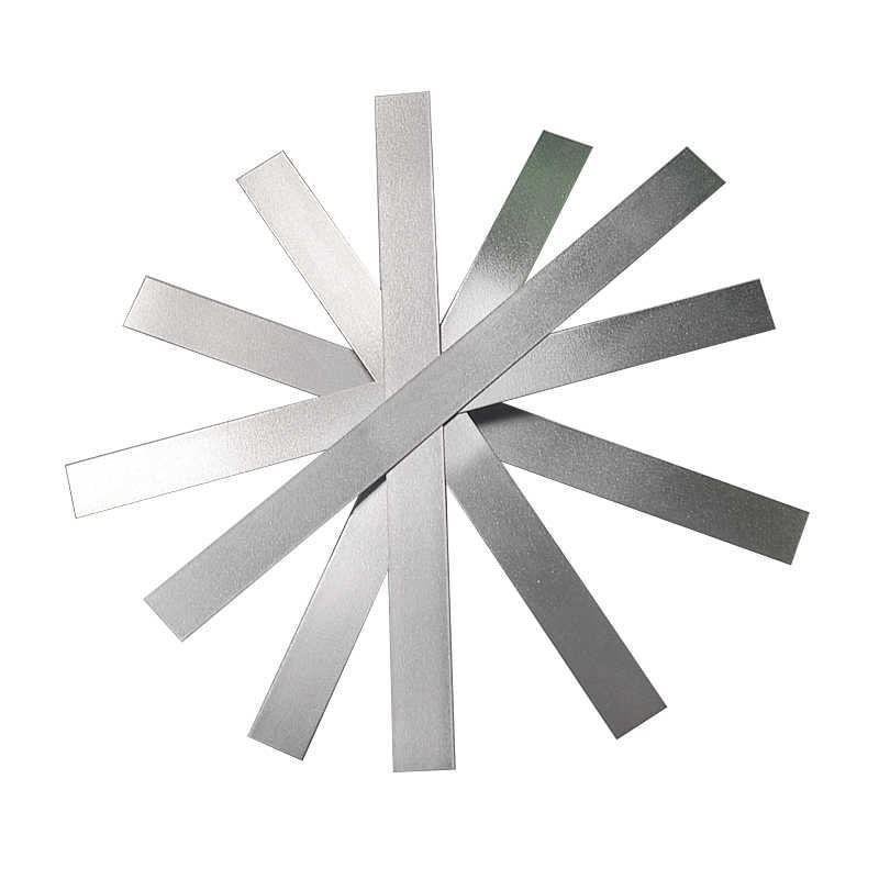 Barra piatta nichel 20x1mm-90x4mm 2.4060 strisce di lamiera tagliate a 250-1000mm