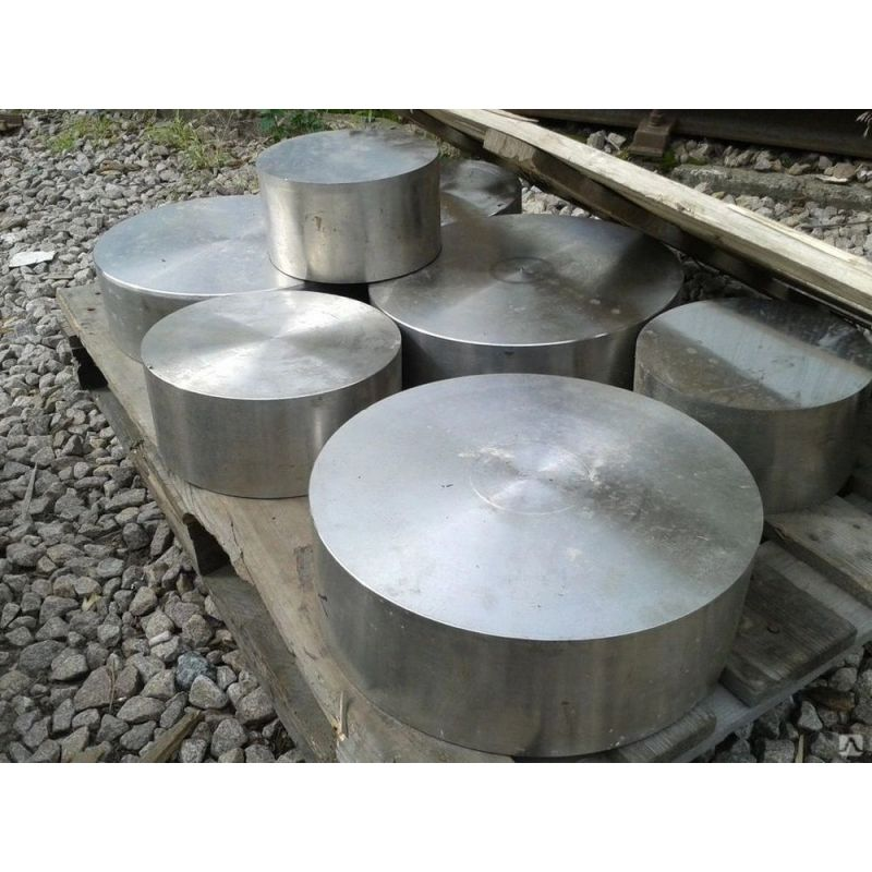 Lamiera tonda in acciaio inox 20mm 1.4571 disco tondo asta tonda in acciaio 316Ti Ø 100-300mm