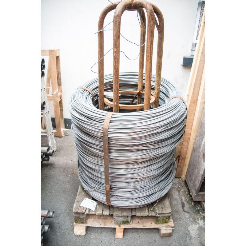 Filo di tensione 0.6-8mm legatura filo di ferro zincato fiori tinker mesh 10-500 metri, acciaio