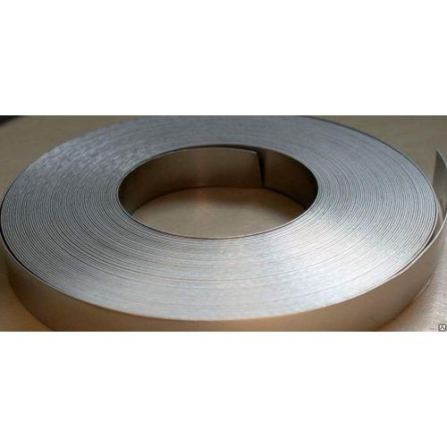 Nastro in nastro di metallo da 1x6mm a 1x7mm 1.4860 Nastro in lamina nichelata filo piatto 1-100 metri,  Lega di nichel