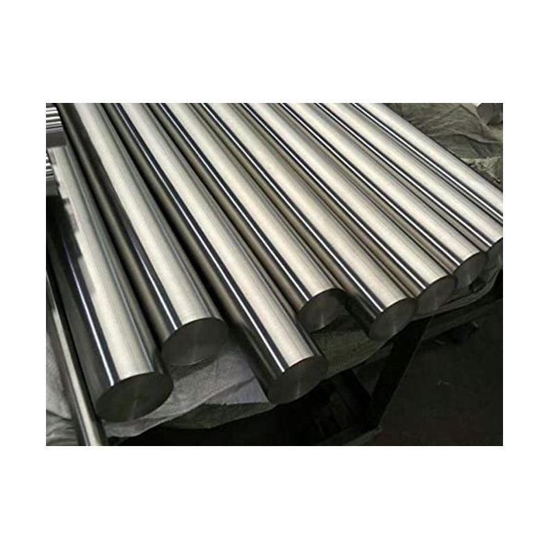 Asta tonda in metallo Nickel 200 99,9% da Ø 2mm a Ø 120mm Ni elemento 28, lega di nichel