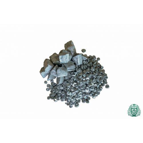 Purezza dello zinco Zn 99,99% elemento metallico puro di zinco grezzo 30 piramidi 10gr-5kg,  Metalli rari