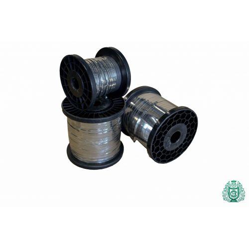 Filo piatto in lamiera di acciaio inossidabile a nastro 0,3x0,6mm V2A 1.4301 Filo di riscaldamento a nastro 304, acciaio