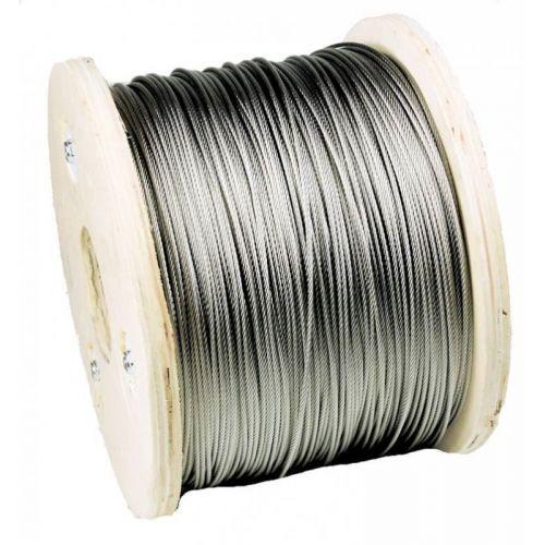 Cavo in acciaio inox 1-200 metri Cavo Ø3mm in acciaio inox Cavo in acciaio, acciaio inossidabile