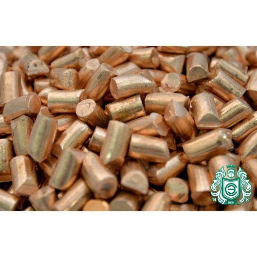 Granulato di rame 99,9% elemento 29 pezzi di rame colata di metallo puro colata 25gr-5kg, categorie